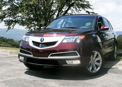2010 acura mdx first drive