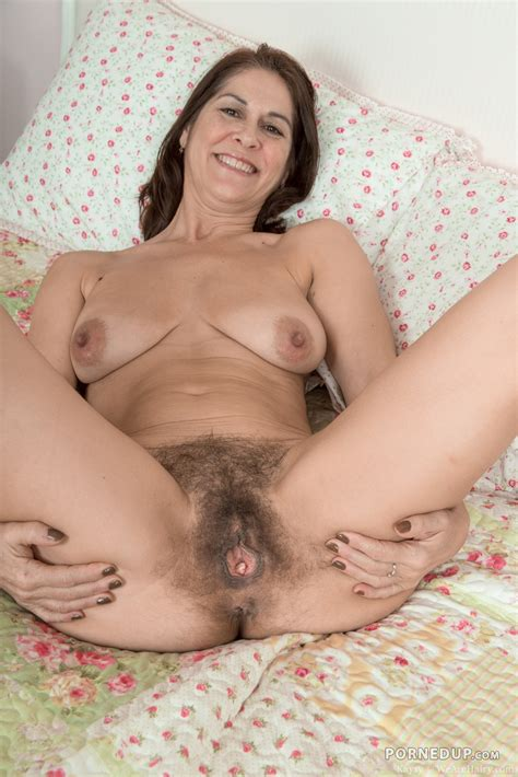Hairy Open Pussy Porned Up
