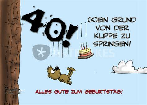 """Vierzig ist nur eine zahl, vierzig wird man nur einmal. """"Der 40. Geburtstag"""" Comic als Poster und Kunstdruck von ..."""