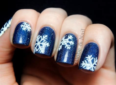 Nail Art Winter : 19 Gorgeous Winter Inspired Nail Art Ideas