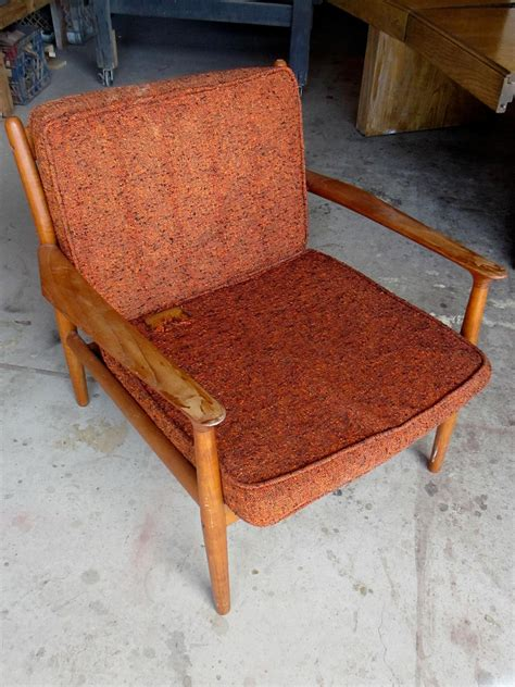 mid century rocking how to refinish a vintage midcentury modern chair diy