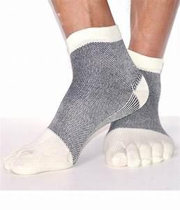 Chaussettes en coton avec Orteils pour Homme