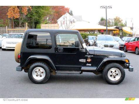 jeep sahara black black 1998 jeep wrangler sahara 4x4 exterior photo