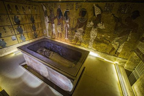 de chambre mortuaire bombshell king tut may shared his possibly