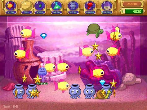 insaniquarium insane aquarium game