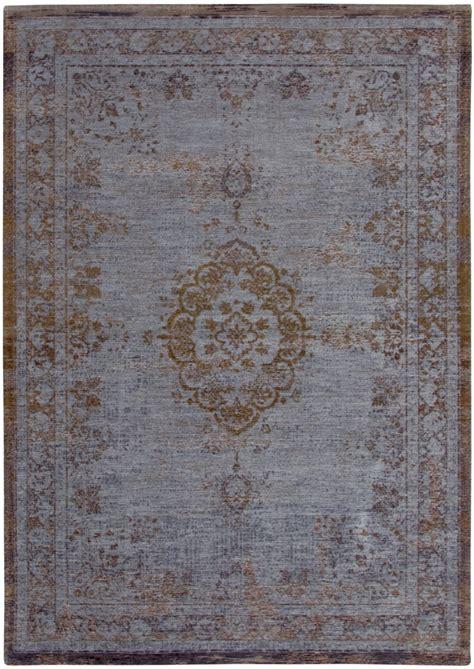louis de poortere louis de poortere fading world medallion grey tapijt tapijten