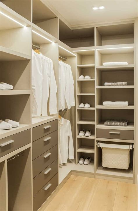 In Your Closet by 30 Custom Reach In Closet Storage System Designs