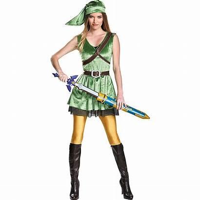 Link Adult Costume Female Zelda Legend Costumes