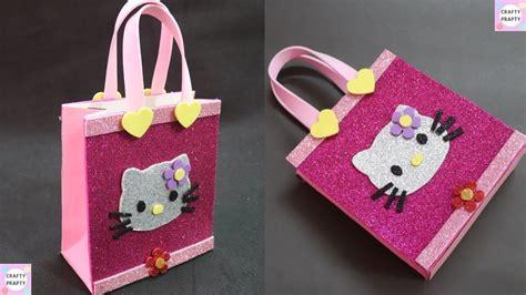 gift bag diy  kitty paper bagdiy paper