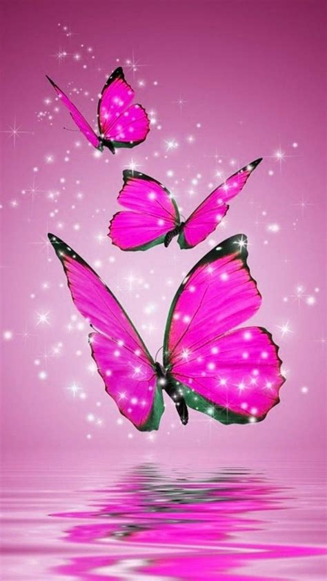 Beautiful Hd Wallpaper For Mobile Screen by Pink Butterfly Hd Wallpapers For Android Best Mobile