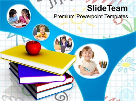 Powerpoint Template For Education by Back To School Activities Education Powerpoint Templates