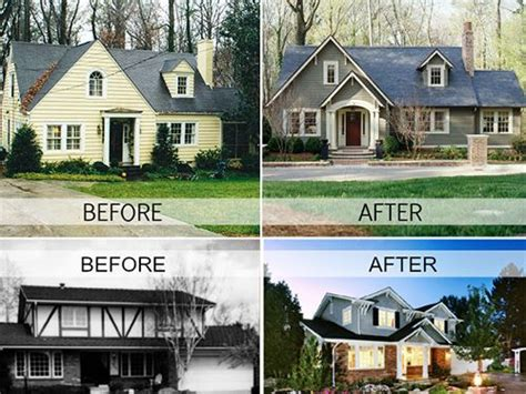 home exterior makeovers images  pinterest