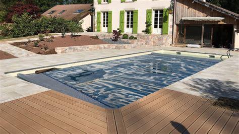amenagement paysager autour d une piscine creusée adrien michel paysagiste am 233 nagements paysagers sur le