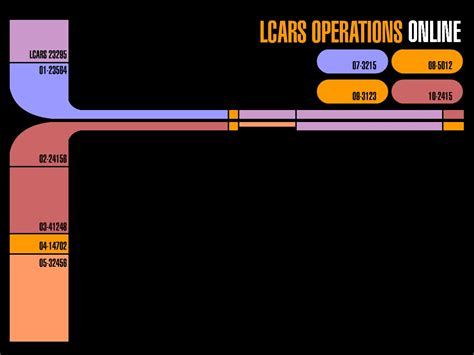 Animated Trek Desktop Wallpaper - lcars wallpaper