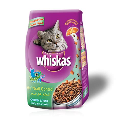 our products whiskas 174 food hairball