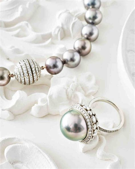ways to wear pearls at your wedding martha