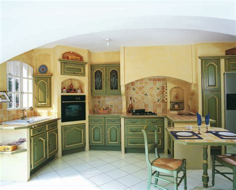 cuisine provence cuisine provencale verte et jaune