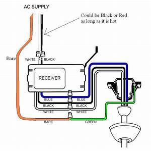 Hampton Bay Remote Control Installation Issue