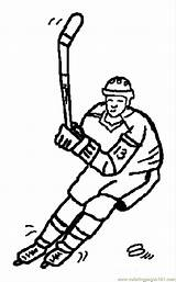 Coloring Pages Olympic Olympics Winter Printable Sports Hockey Ice Colouring Luck Getcoloringpages Games Rings Popular sketch template