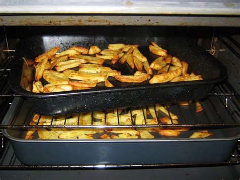 Kitchen Beat by Day 73 Homemade Oven Chips Thin Cooking