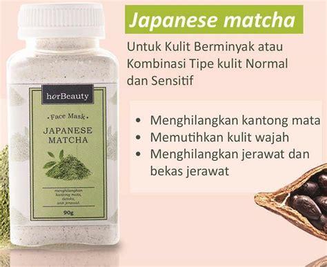 herbeauty green tea surabaya masker 100 organic