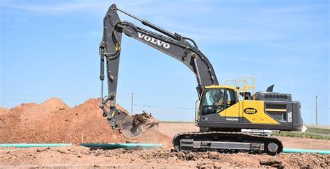 volvo excavators rebuilding amarillos underground