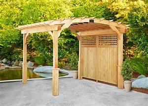 Pergola Bausatz Holz : bild garten pergola holz idee aabbeatv ~ Articles-book.com Haus und Dekorationen