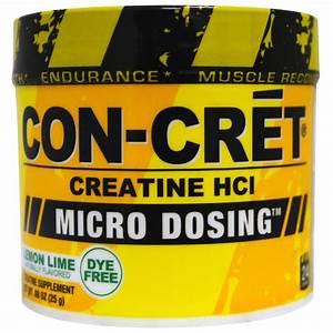 Con-cret  Creatine Hci  Micro-dosing  Lemon Lime   88 Oz  25 G
