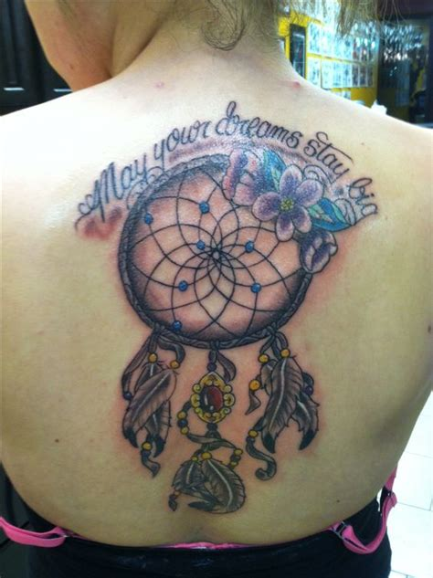 dream catcher tattoo  shoulder  catcher  pinterest