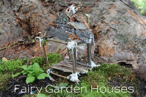 tutorial garden house feathered nest studio