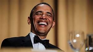 Image Gallery obama laughing