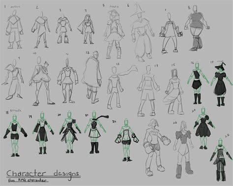 artstation character design process sara raymond luk