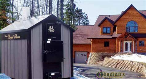 Crown Royal Rs Series Outdoor Coal Boiler By Obadiah's