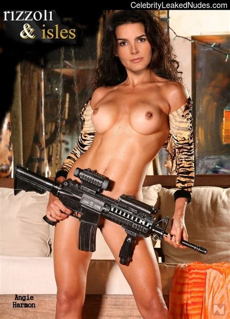 Angie Harmon Topless Celebrity Leaked Nudes