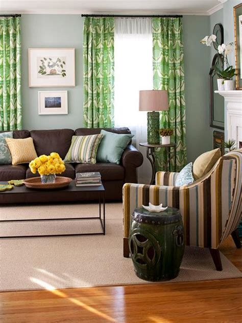 living room ideas brown sofa curtains modern interior colors and matching color combinations