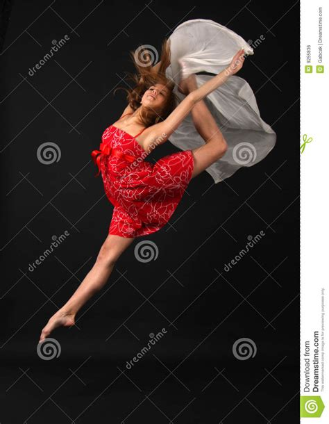 Elegant Young Flexible Woman Stock Photo Cartoondealer