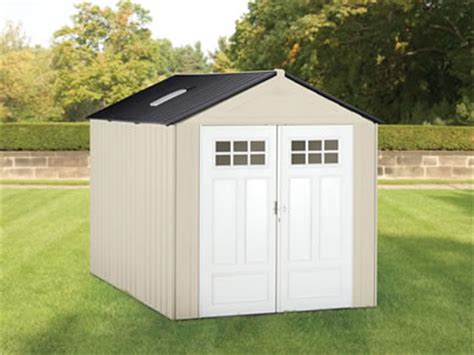 Rubbermaid Big Max Shed Assembly by Rubbermaid Big Max Ultra 7x10 Resin Storage Shed