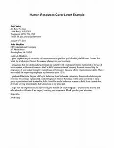 sample human resource assistant cover letters doc by With human resources cover letter