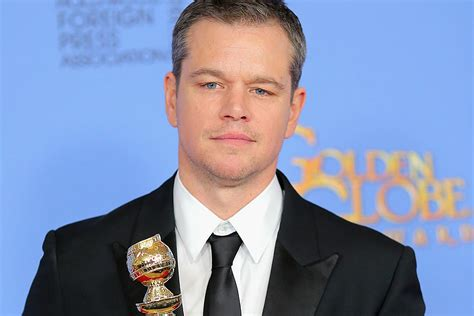 Best Matt Damon Matt Damon Wins Best Actor In A Comedy Or Musical
