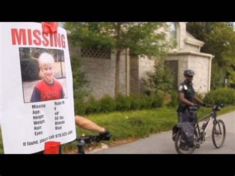 missing children posters work youtube