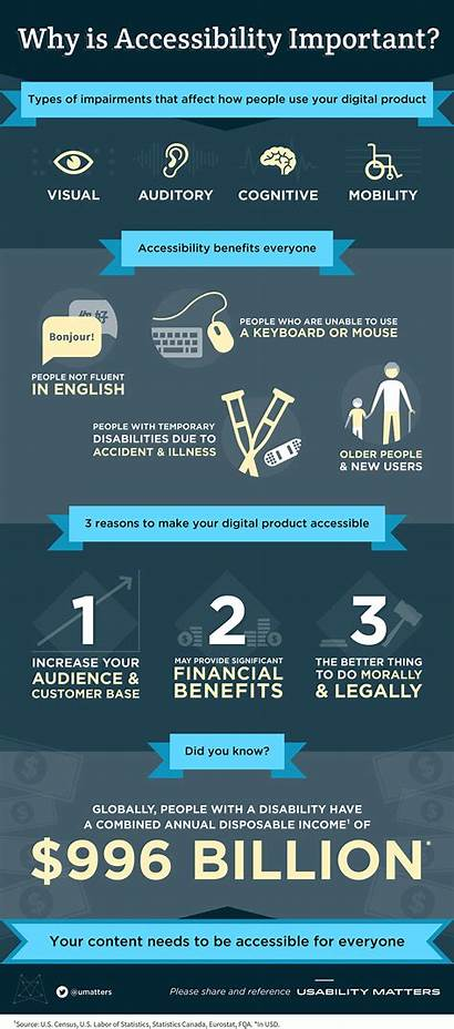 Infographic Accessibility Accessible Important Digital Why Web