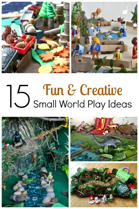 15 Fun And Creative Small World Play Ideas