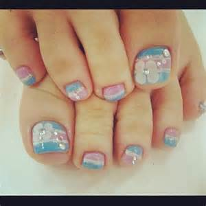 Cute and adorable toenail art designs