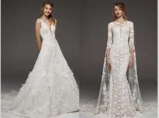 Las mejores tendencias en vestidos de novia para 2019
