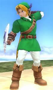 Ocarina Of Time Link Super Smash Bros For Wii U Works