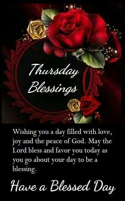 thursday blessings   blessed day pictures