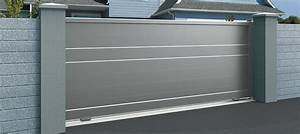 Portail Sur Mesure : le portail coulissant sur mesure ~ Melissatoandfro.com Idées de Décoration