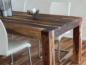 Rustikale Esstische Holz : esstisch holz und glas top inspiration tisch aus und ~ Michelbontemps.com Haus und Dekorationen