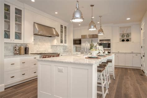 rustic kitchen canisters modern farmhouse kitchen with carrara marble beige