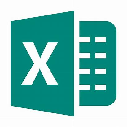 Excel Icon Microsoft Transparent Office Icons Computer